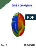 Introduction à La Géophysique