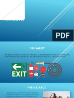 Fire safety presentation.