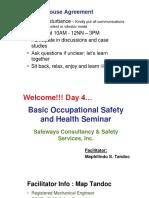 BOSH Day 4 Safeways