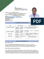Nsekuye JeanBosco Resume