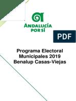 Programa Municipales AxSiBenalup 2019