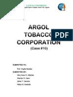 Case 10 Written Report