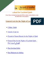 Amaal for Laylatul Qadr - duas.org.pdf