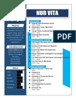 Curriculum Vitae Nurvita