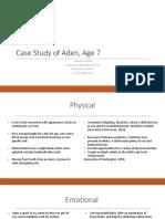 my case study on aden
