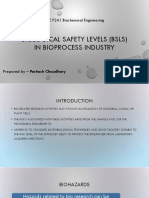 Biological Safety Levels (BSLs) in Bioprocess.pdf
