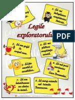 Legile explo