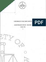 004-rozemond - Unforeseen Circumstances.pdf