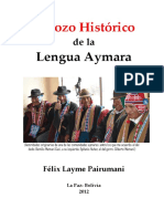 LIBRO 5 Esbozo Histórico de La Lengua Aymara