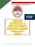 Unidad Didáctiva N° 1 - SEGUNDO GRADO