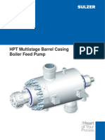 Multistage Boiler Feed Water Pump
