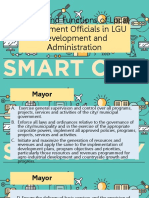 Duties and Functions of Local Government Officials