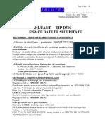 Diluant D506 FDS