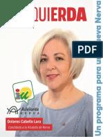 Programa electoral municipales 2019