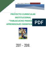 Pci 2017 Tablacucho