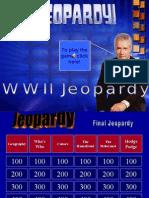 Wwii Jeopardy