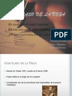 Garcilaso de La Vega (Sonetos v, X y XXI)