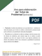 Instructivo Arbol de Problemas