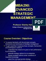 MBA 290-Strategic Analysis