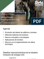 Evolución en El Diseño de Plantas de Agua Helada y Avances Tecnológicos en Sistemas de Bombeo. Gianluca Ristagno. Armstrong Fluid Technology