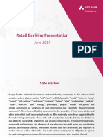 Retail Banking Presentation June 2017