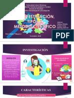 Tipos de Investigación y el método científico