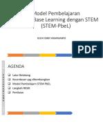 Model pembelajaran Product Base dan STEM