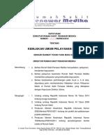 SK Kebijakan Umum Yanmed