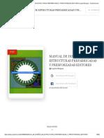 (PDF) MANUAL DE DISEÑO DE ESTRUCTURAS PREFABRICADAS Y PRESFORZADAS EDITORES _ Lupita Murguia - Academia.edu.pdf