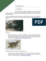 Artikel Hewan dan Tumbuhan Langka di Indonesia.docx