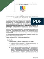 Acuerdo de Gobernabilidad Puno 2019-2022 Firmas Ejes