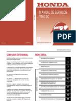 Honda VT600C - Manual de Serviços