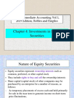 Chapter 4 - Investments in Equity Securities