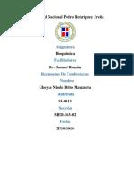 Resumen conferencia del Colegio Medico Dominicano