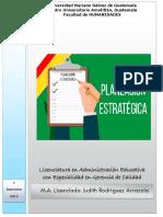 PE Tema Estrategia Relacionada Con Las Actividades de La Organización No.6 16.03.19