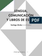 Lengua, Comunicación y Libros de estilo