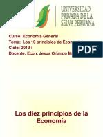 Los 10 Principios de Economis Curso Economia General Jesus Orlando Marin Rios Ups