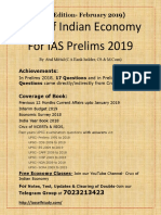 Feb 2019 Edition-Crux of Indian Economy for IAS Prelims 2019.pdf