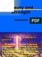 Beauty and Strength (Devotional)