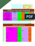 Wealth Tax Calculation