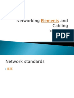 Networking Elements & Cabling
