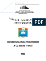 Reglamento Interno Ituata
