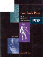 Low Back Pain - Mechanism, Diagnosis and Treatment 6th ed - J. Cox (Williams and Wilkinson, 1999) WW.pdf