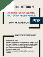 MATERI POLARITAS TRAFO