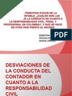 Desviaciones de La Conducta Del Contador en Cuanto (3)