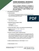 FORMULARIO - COCHOBAMBA (INFORME)