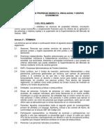Reglamento de Propiedad Indirecta, Vinculacion, y Grupo Economico