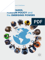 James G. McGann - Think Tanks, Foreign Policy and the Emerging Powers (2019, Springer International Publishing_Palgrave Macmillan).pdf