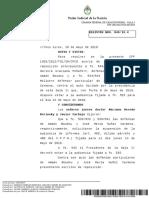 Fallo de Casación que postergó revisión de condena a Boudou por Ciccone