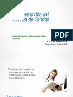 MODULO XI Documentación Del Sistema de Calidad 28 Jun2013